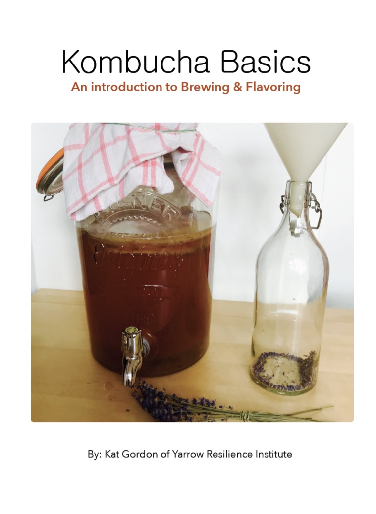 Kombucha Brewing & Flavoring Ebook
